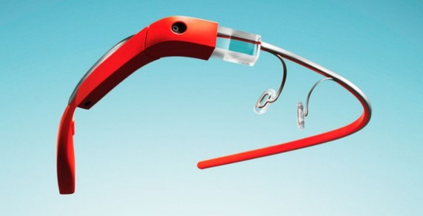red google glass hmd