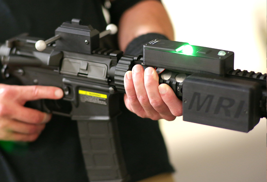 virtsim virtual reality weapon system