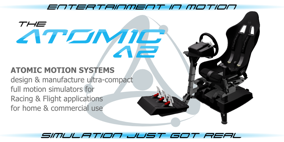 Atomic Motion Systems Add Oculus Rift Support to Its A2 Motion