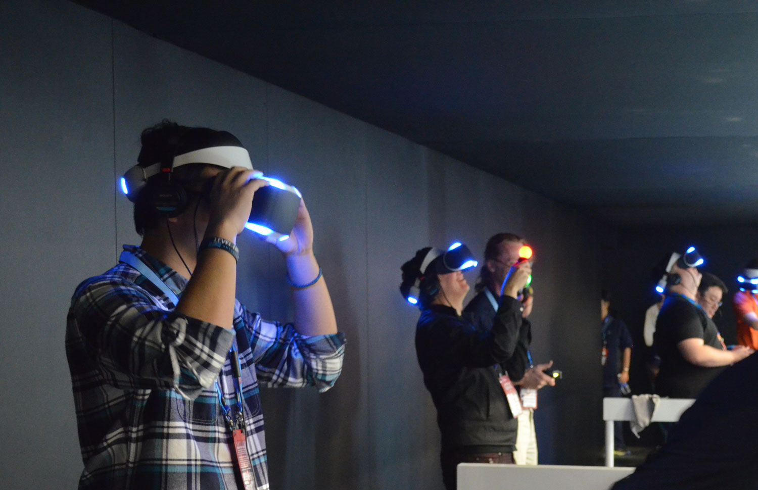 gdc 2014 sony project morpheus ps4 vr headset 39 the deep. Black Bedroom Furniture Sets. Home Design Ideas