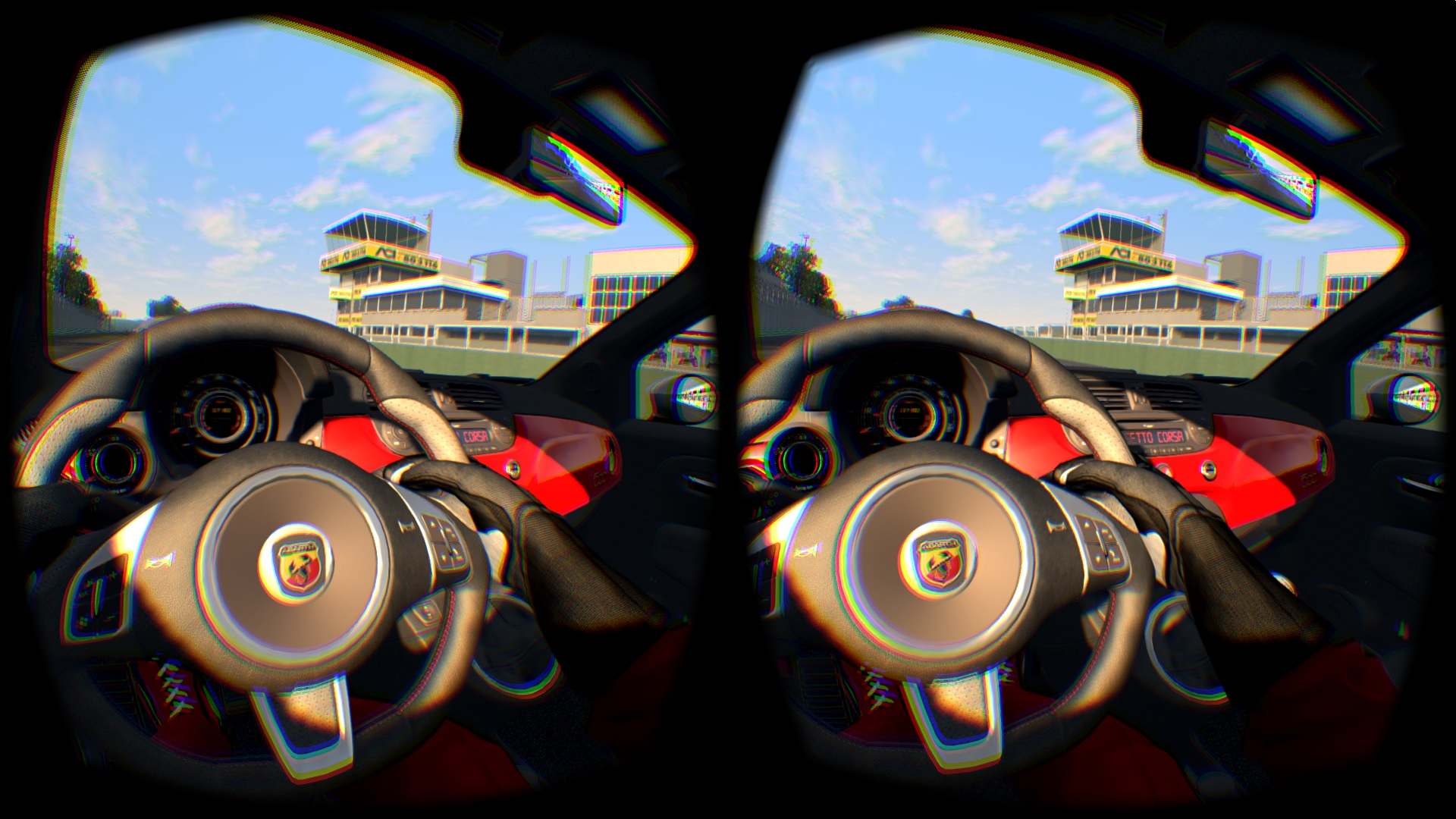 Racing In Assetto Corsa On The Oculus Rift Dk2 Is A Flawed