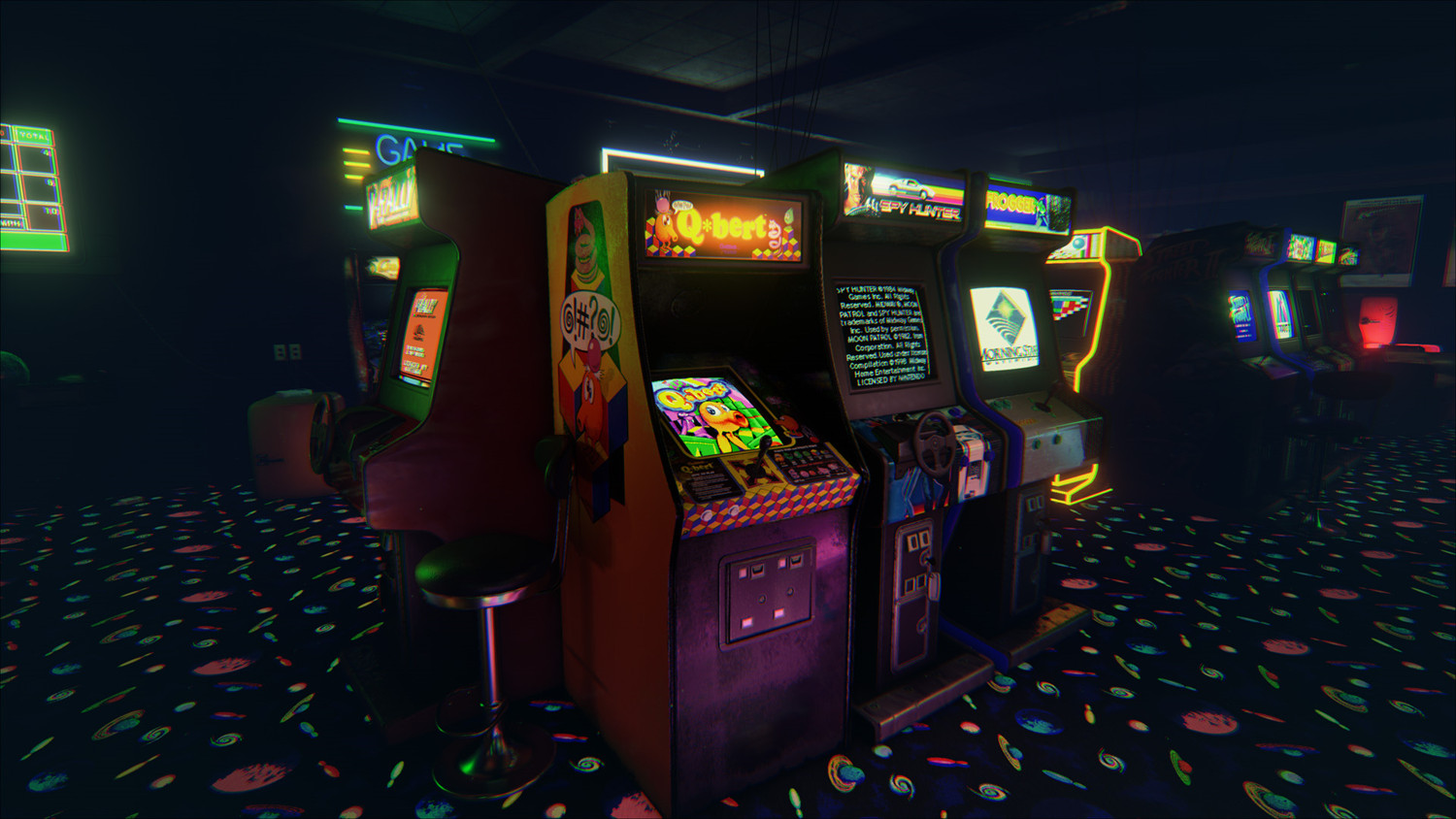 Newretroarcade Is A Brilliantly Detailed 80 S Arcade