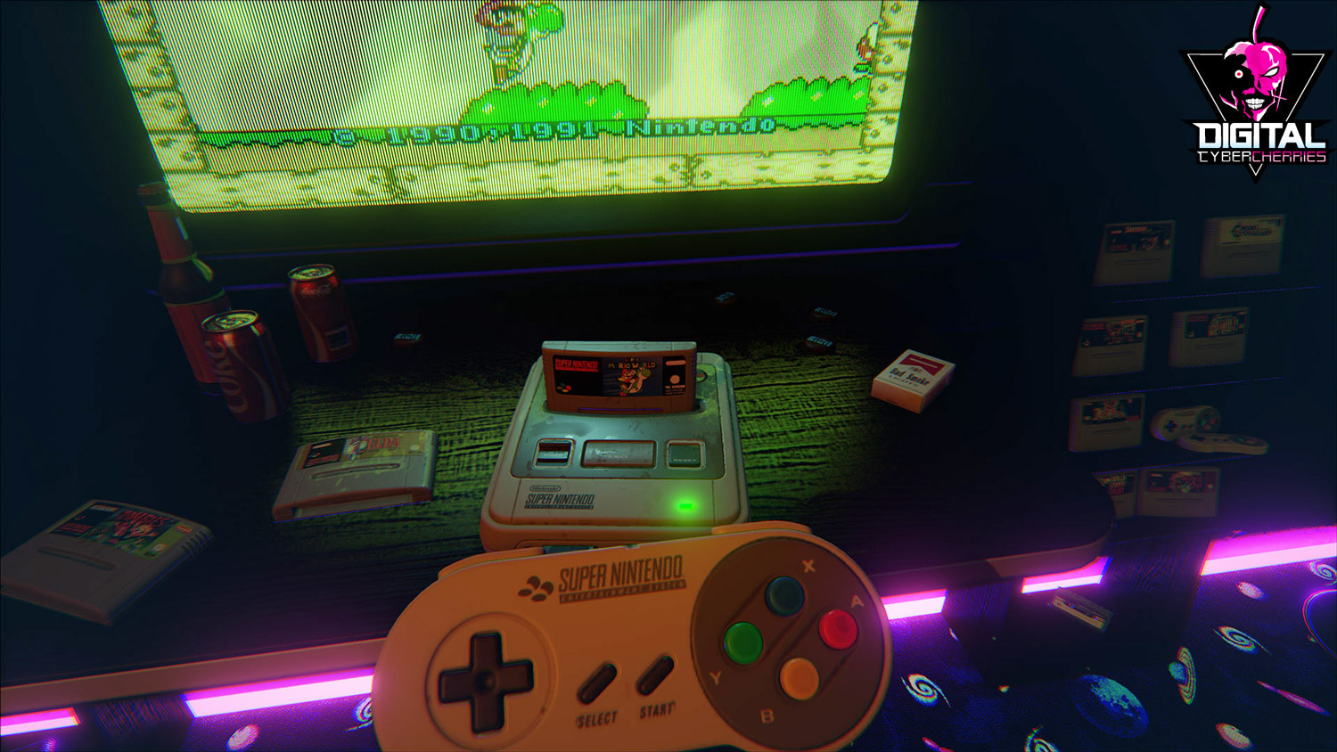 NewRetroArcade Version 2 is Out, Now With Support for SNES, NES, and