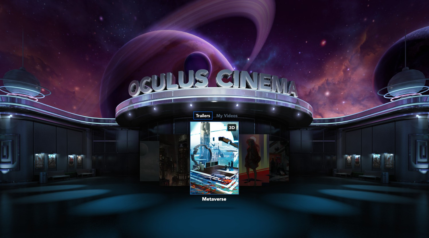 Oculus Cinema' Getting Online Multiplayer and New Social