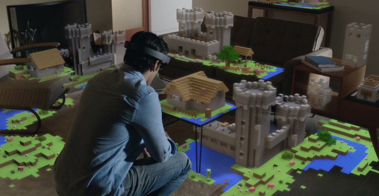 Microsoft HoloLens Reveal Concept Video - Road to VR