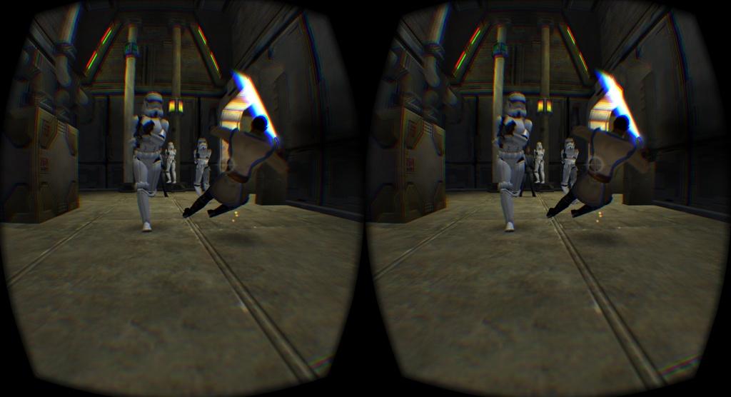 Lucasarts' Star Wars 'Jedi Academy' Gets Oculus Rift DK2