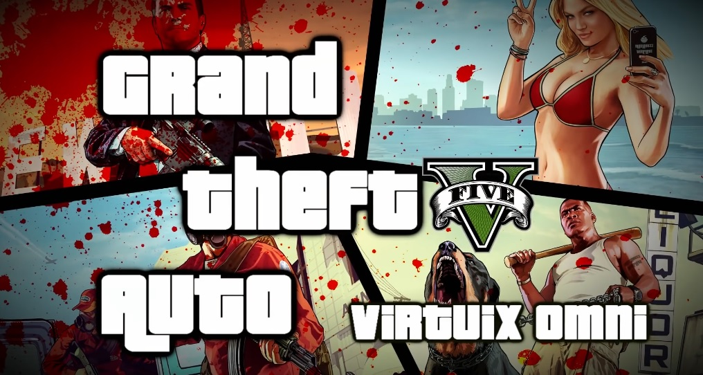Running Amok in GTA V with an Oculus Rift, a Virtuix Omni