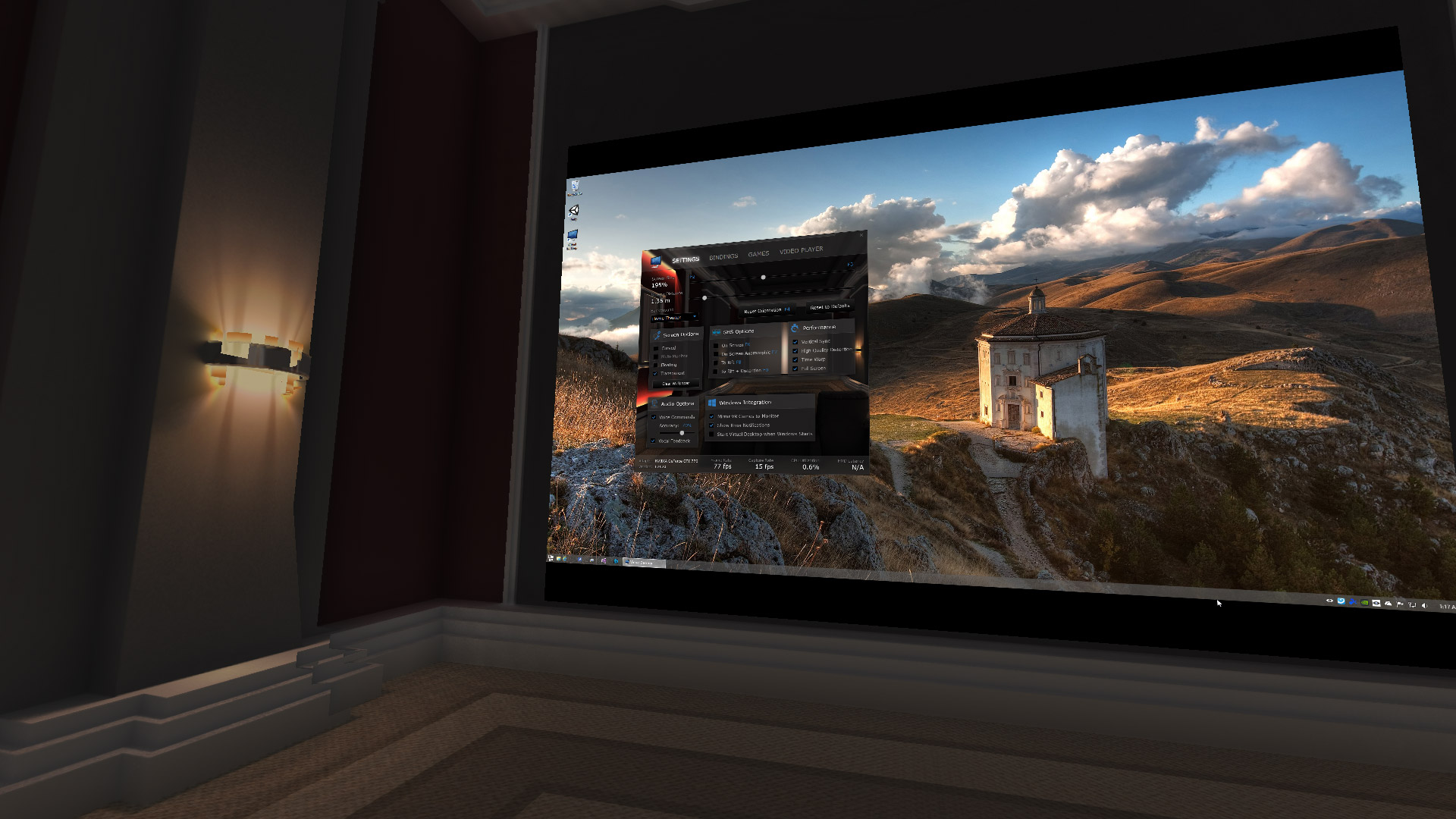 The latest version of 39 virtual desktop 39 is here the free for Vr for home