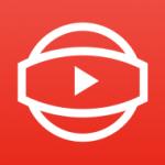 360 youtube video icon