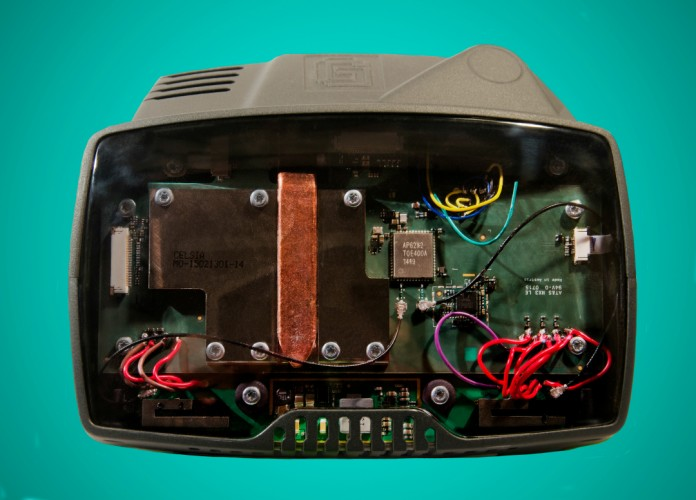 Gameface headset interior