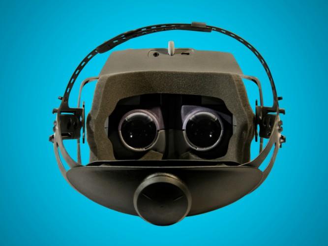 gameface prototype headset interior