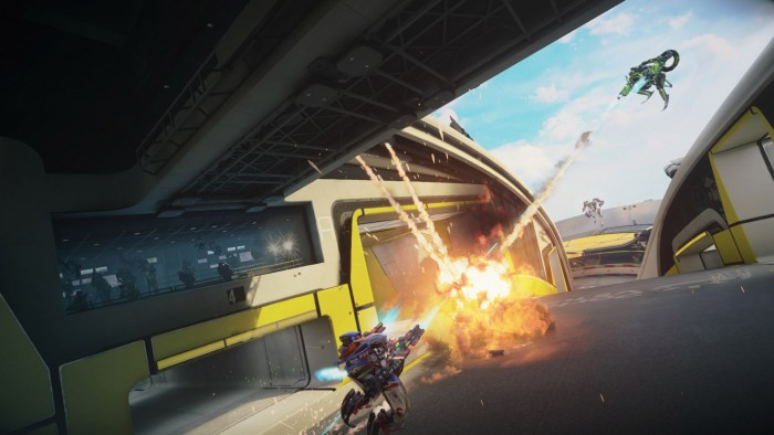 Hands-on: Sony's First Triple-A Competitive VR Game, 'Rigs'