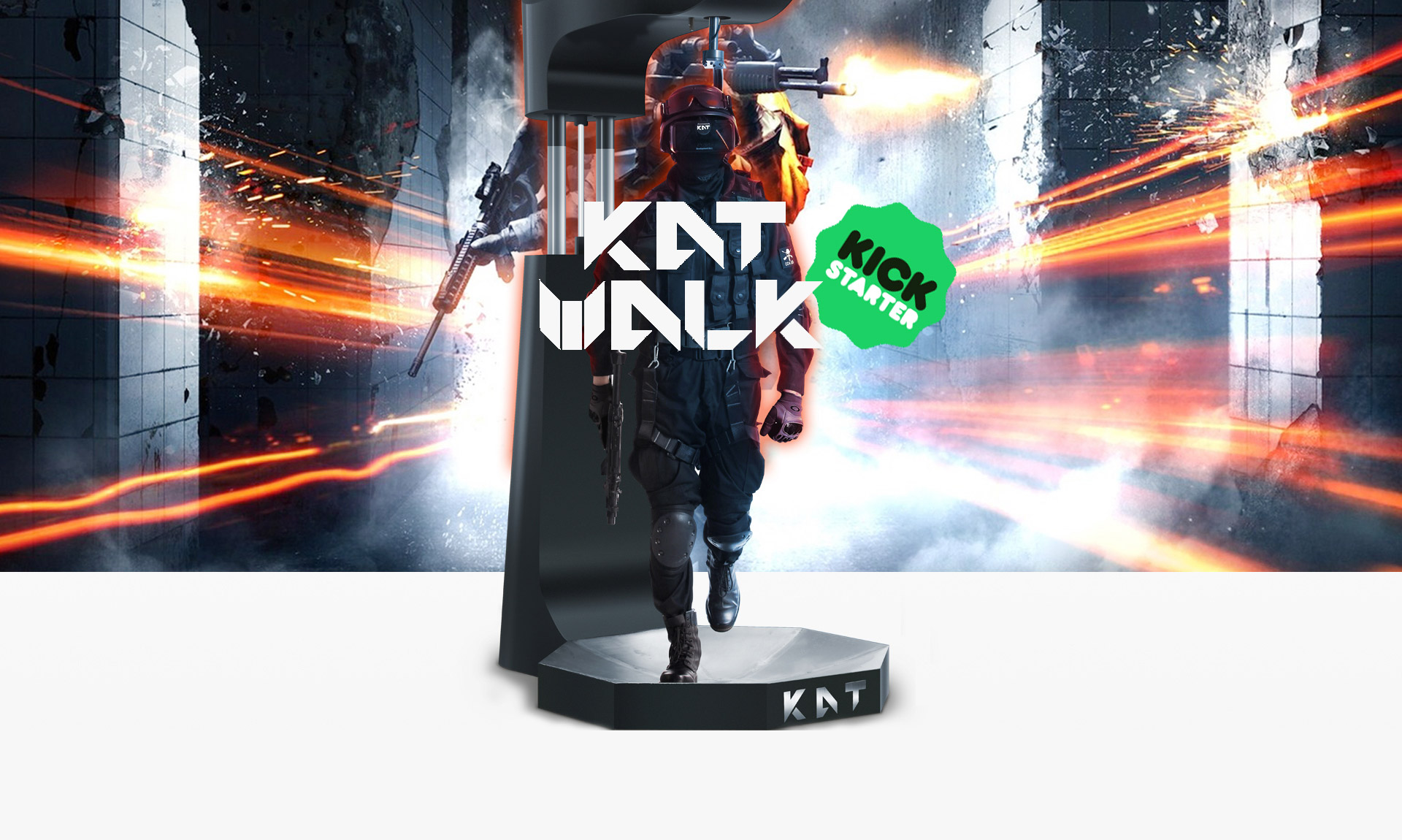 Vr Ready Pc >> 'Kat Walk' Joins the VR Treadmill Race, Approaching $100,000 Goal on Kickstarter – Road to VR