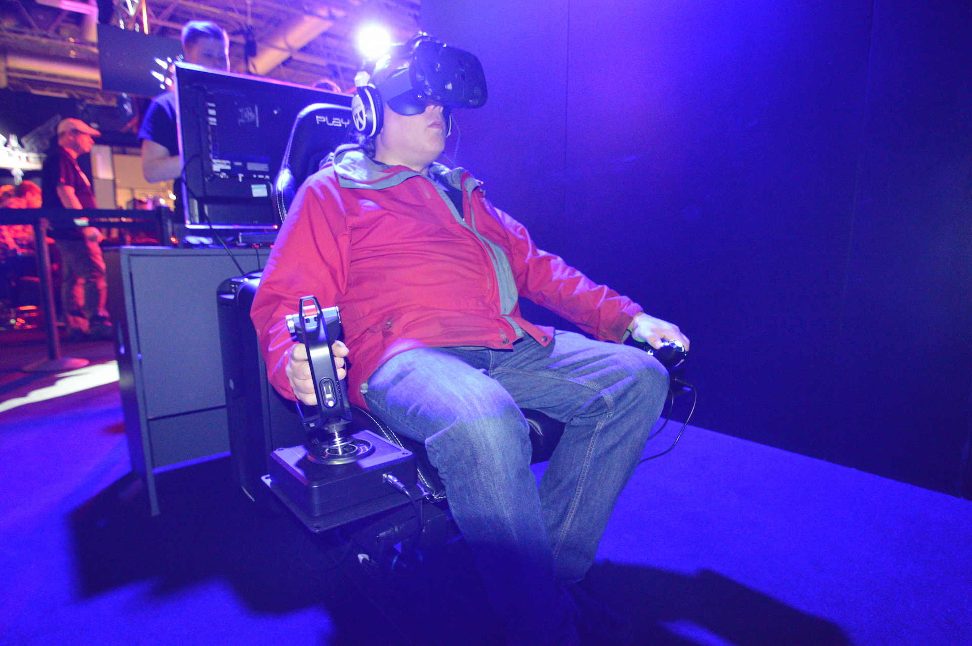 First Look: The 'Elite: Dangerous' Experience on HTC Vive is