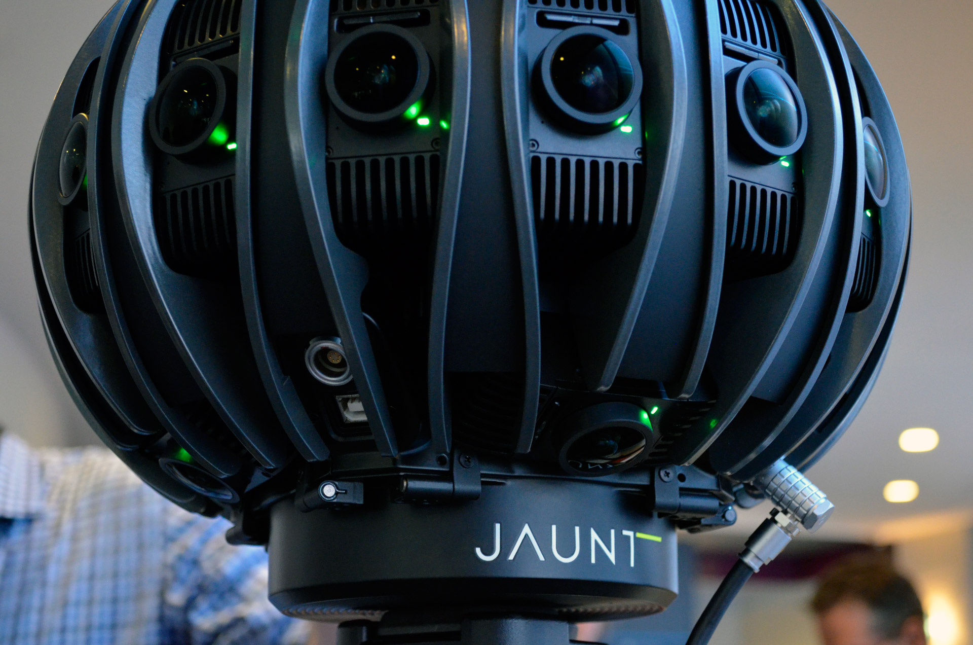 First Look Jaunt S One Vr Light Field Camera With Newly