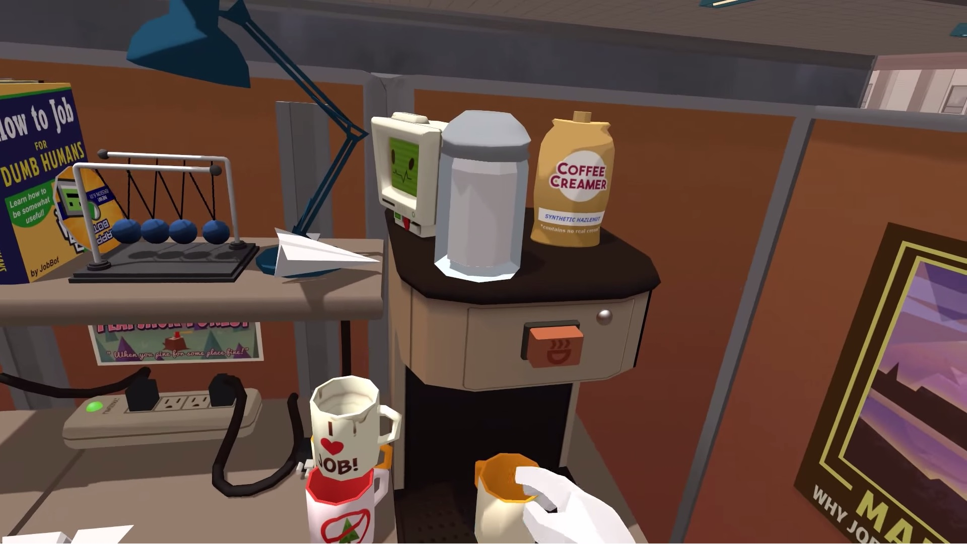 job simulator office worker