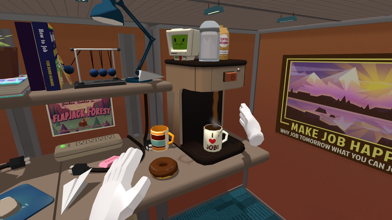 Job Simulator Is A Launch Title For Oculus Touch New