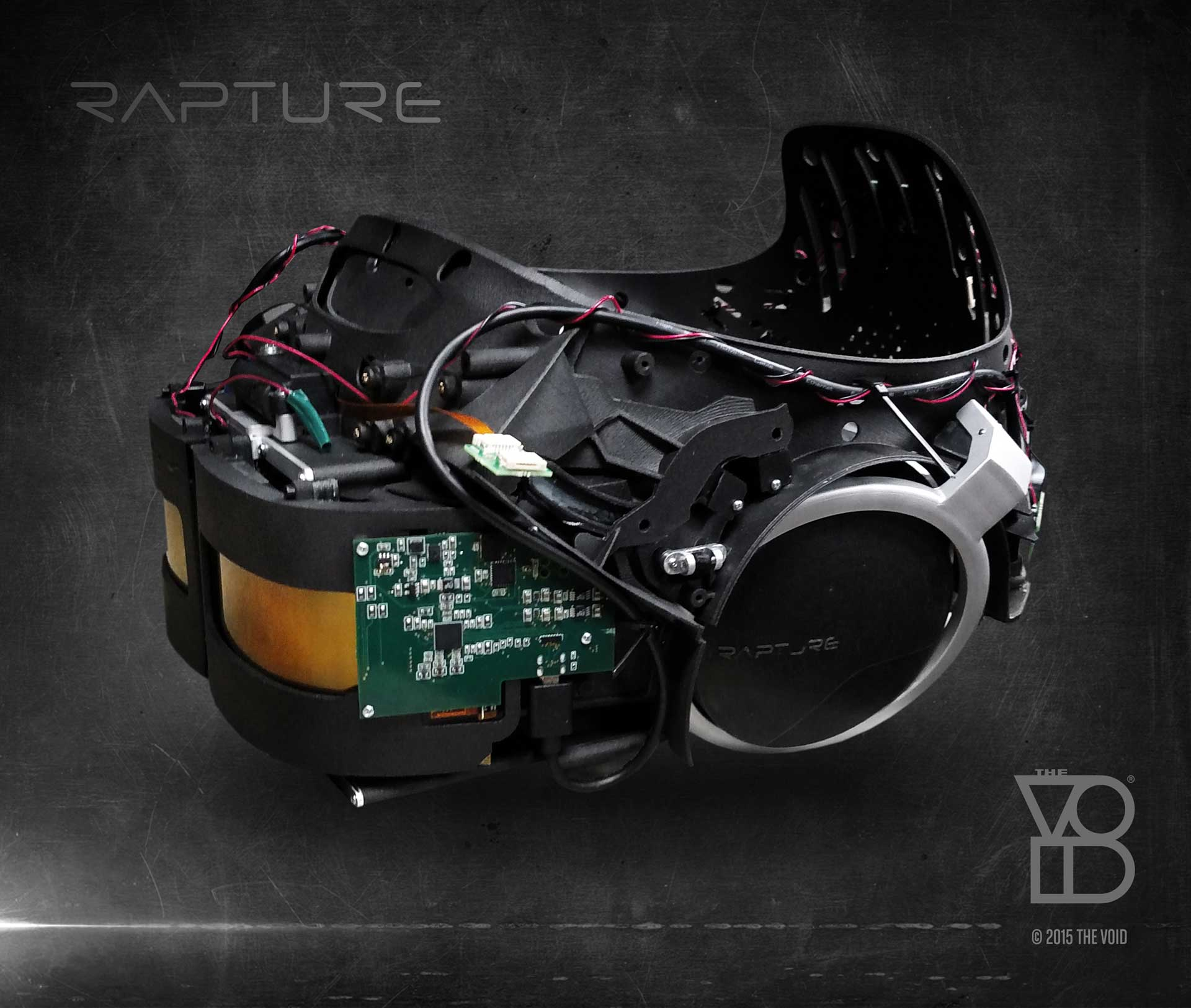 Step Into The Light Vr: First Look: The Void's 2K 'Rapture' VR Headset