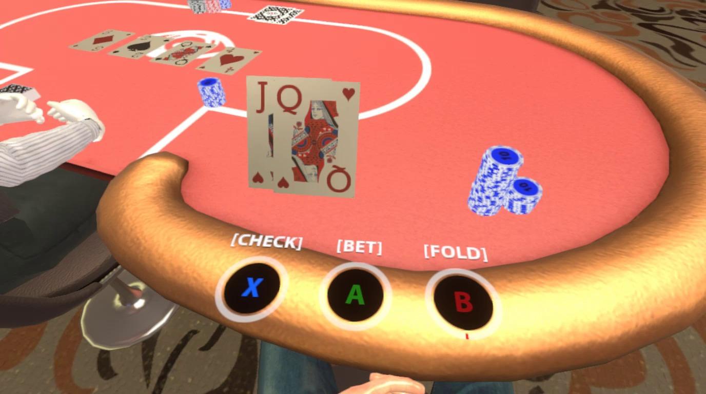 casino vr hand
