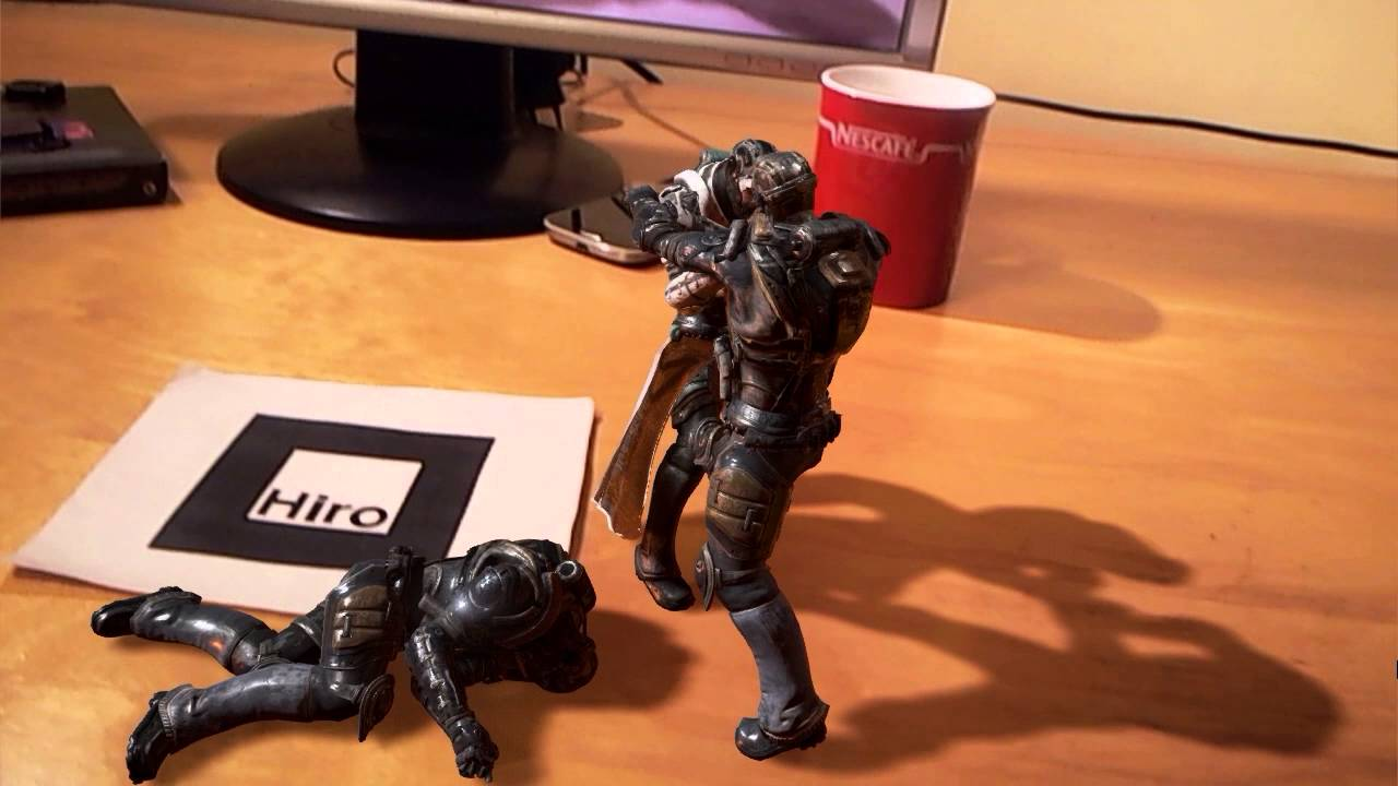 Unreal Engine AR Plugin Makes Your Office Desk a Gameworld