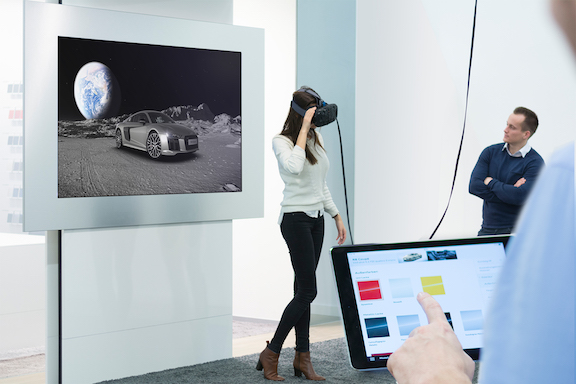 Audi S Next Gen Showrooms Are Powered By Rift And Vive