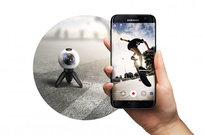 samsung gear 360 camera unpacked