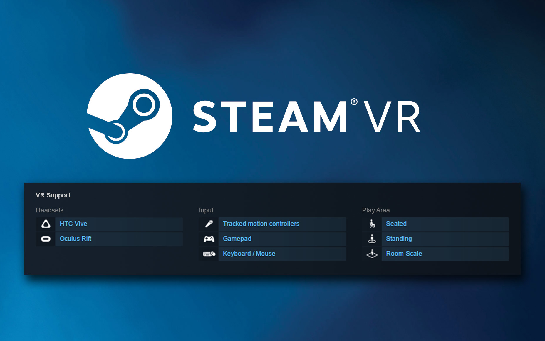 Steam Expands VR Game Listings With Detailed Categories