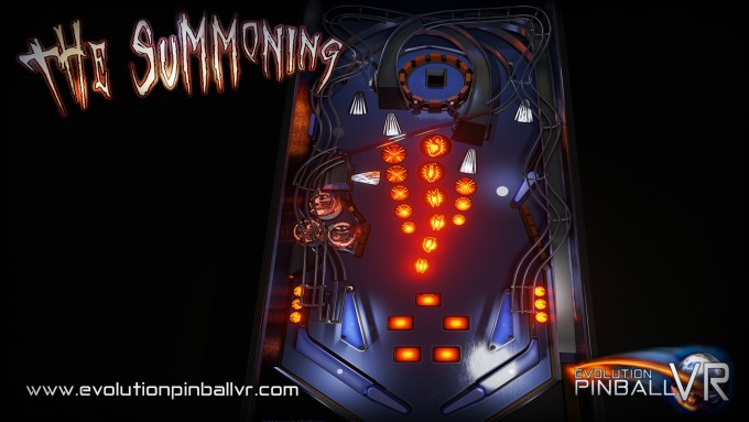 Evolution Pinball VR The Summoning -Screenshot