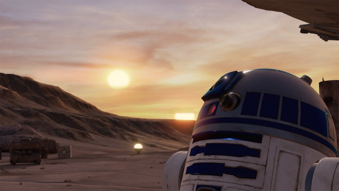 star wars trials of tatooine virtual reality htc vive vr r2d2