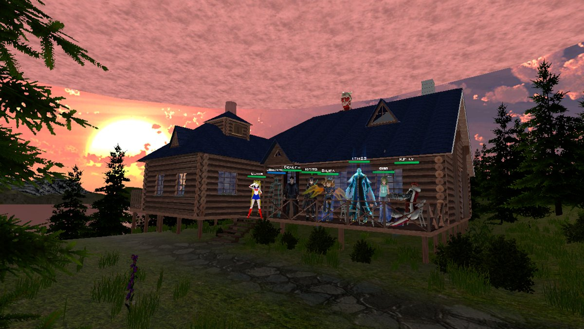 Group Explorations of User-Generated Worlds with VRChat