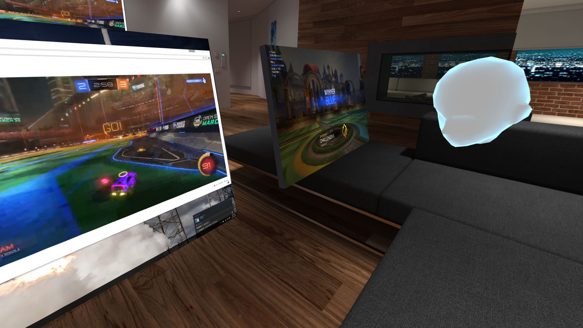 39 bigscreen 39 lets you throw virtual lan parties desktop for Mirror screen