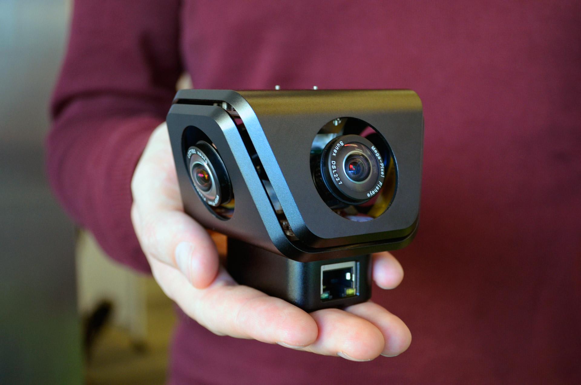 """46c6159ad74 Conheça """"Orah 4i"""" Câmera que promete fazer streaming de conteúdo ..."""