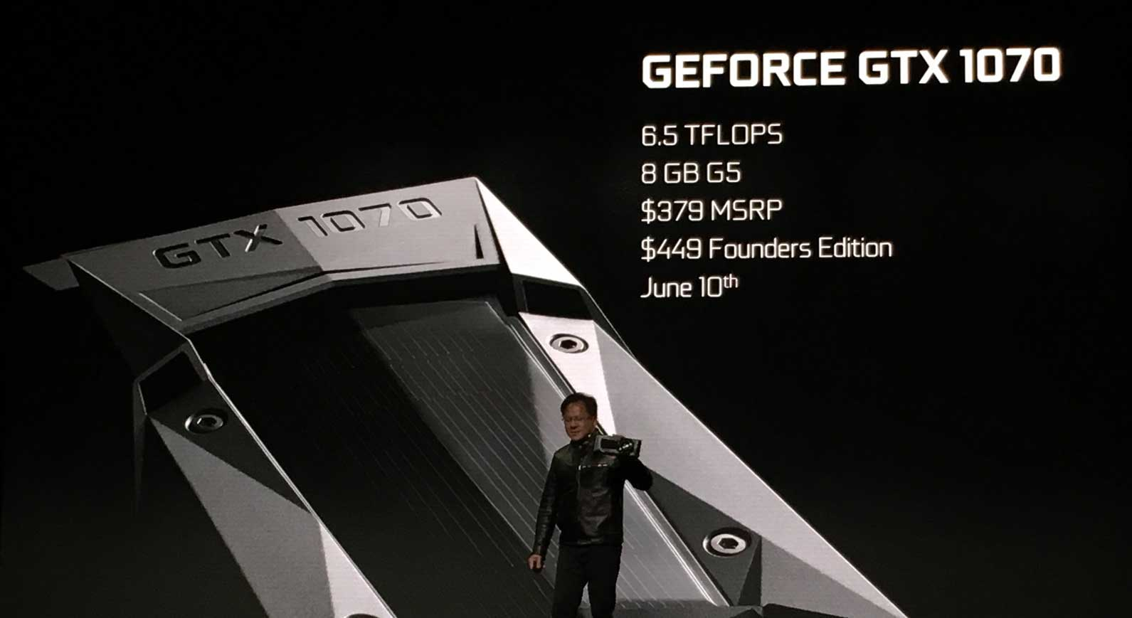 NVIDIA GTX 1070 is Faster Than Titan X for $379, Coming June 10th
