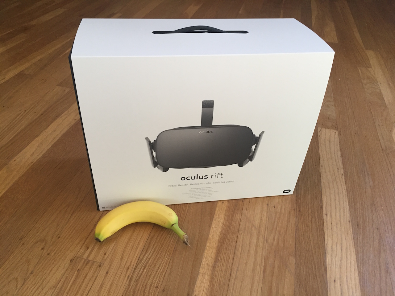 My Unopened Oculus Rift and Why the Vive Stole My Heart
