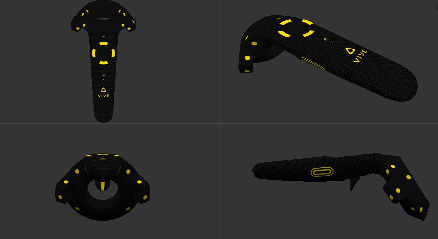 SteamVR Now Lets You Skin Your Controllers and Base Stations
