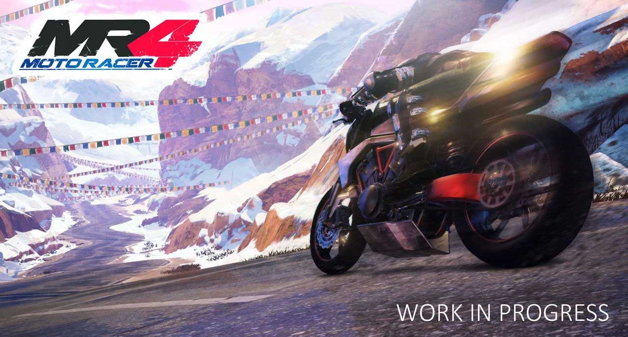 Moto Racer 4 Trailer For Playstation Vr Looks Suitably
