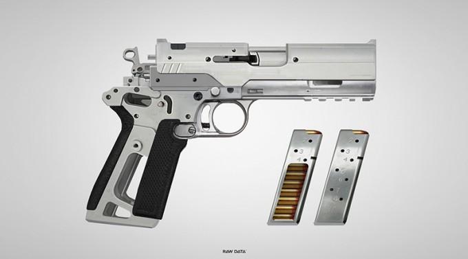 raw data bishop crusader pistol