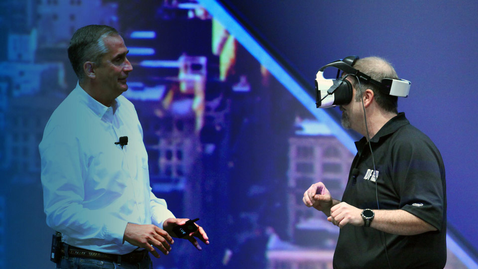 Intel's new Project Alloy is a wireless VR headset for 'mixed reality'