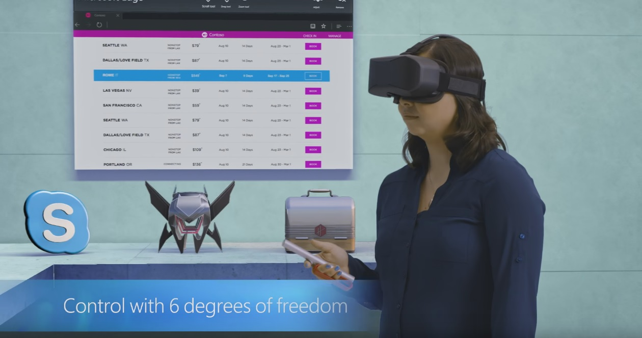 Microsoft Steps Up Move Into Virtual-Reality Market