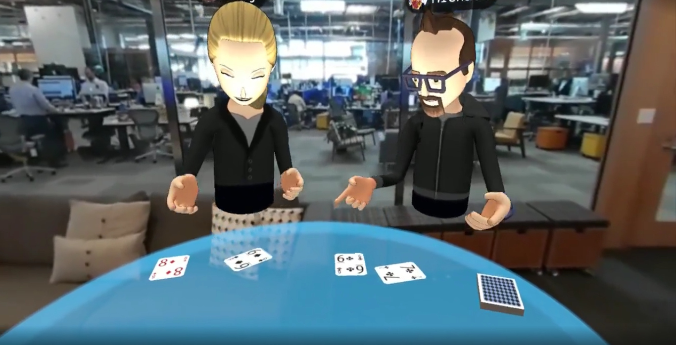 Facebook Shows Updated Social VR Prototype That Dials Into