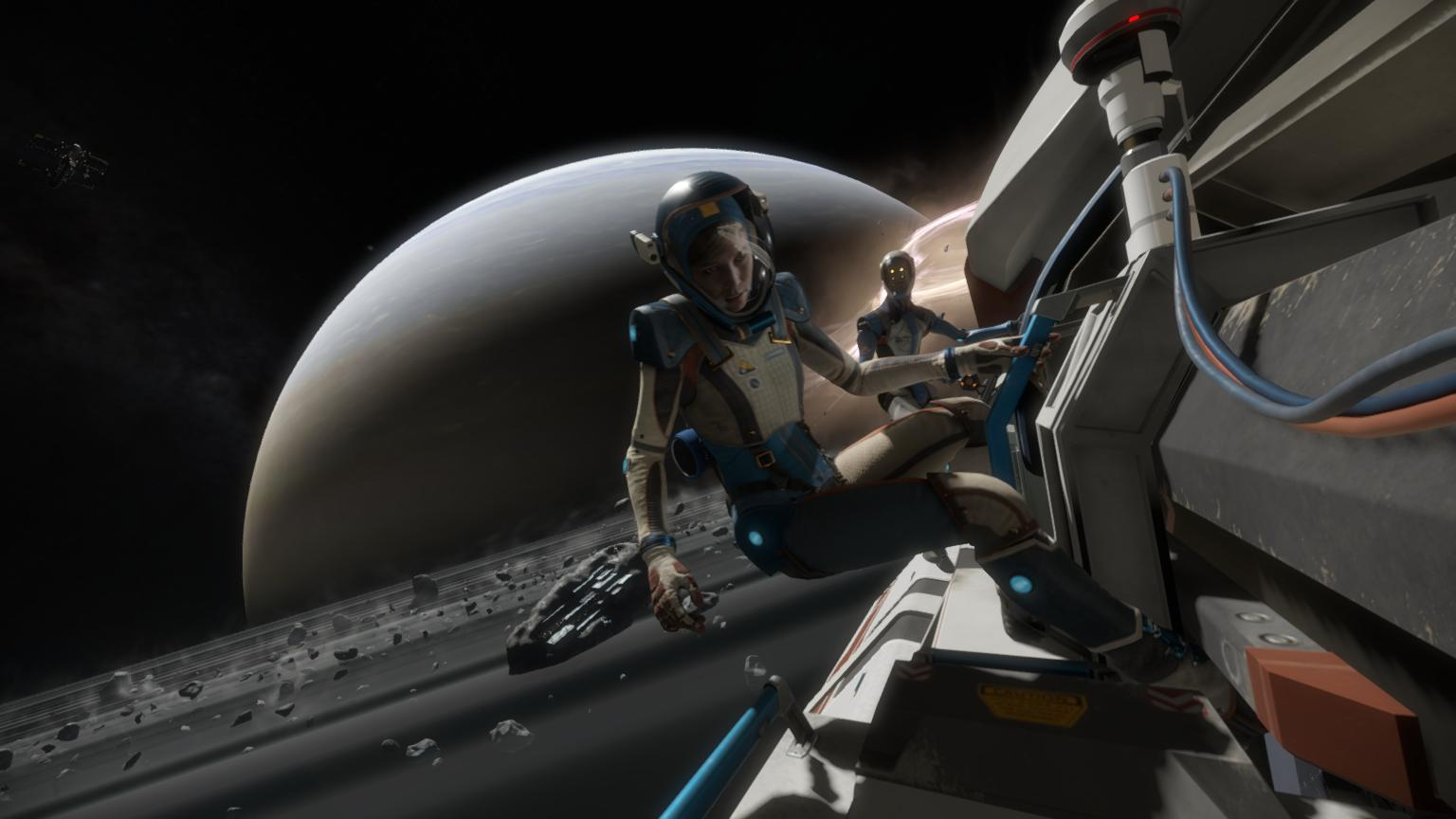Lone Echo' Review – Humanity and A I  Bond at the Ragged Edge of