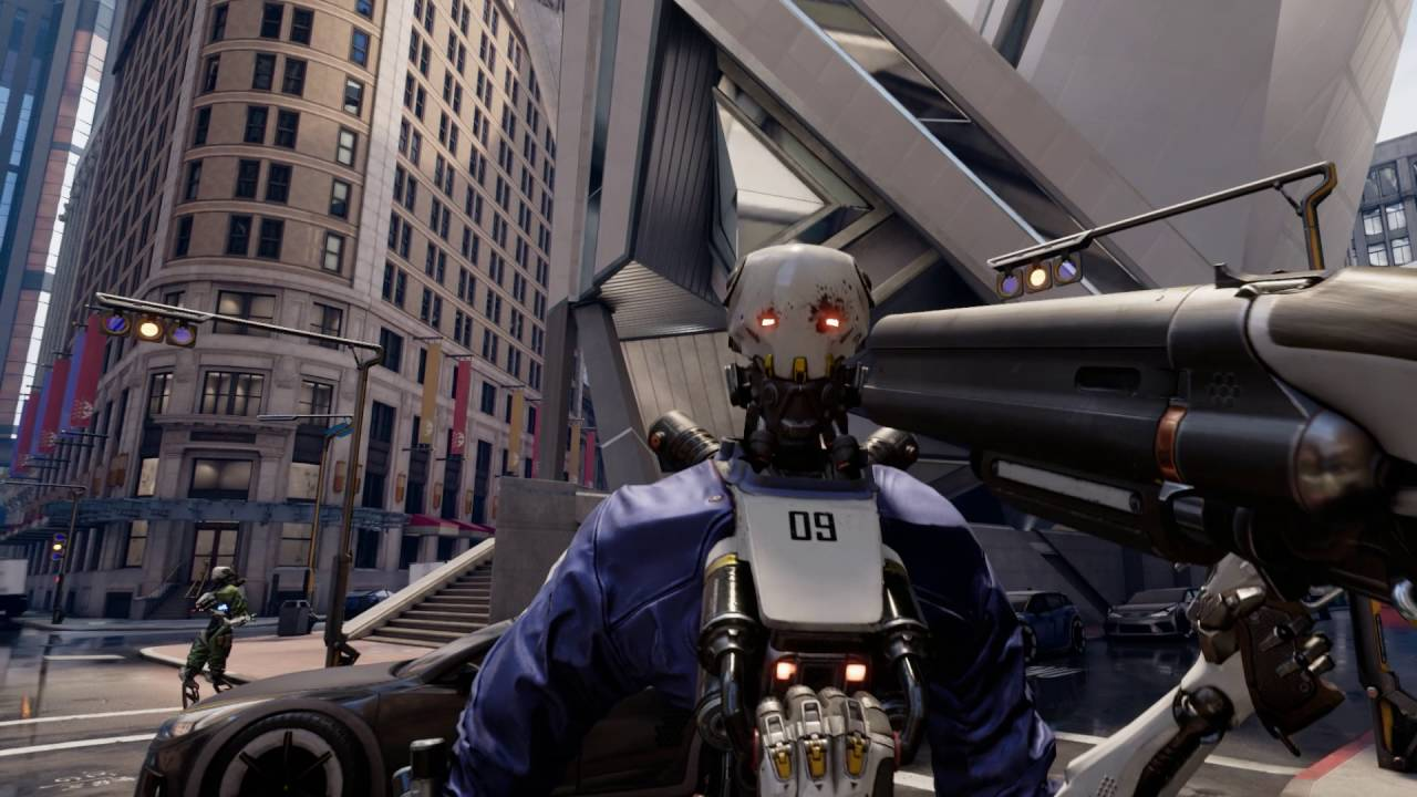 Hands On Epic S New Action Packed Robo Recall Fps Is
