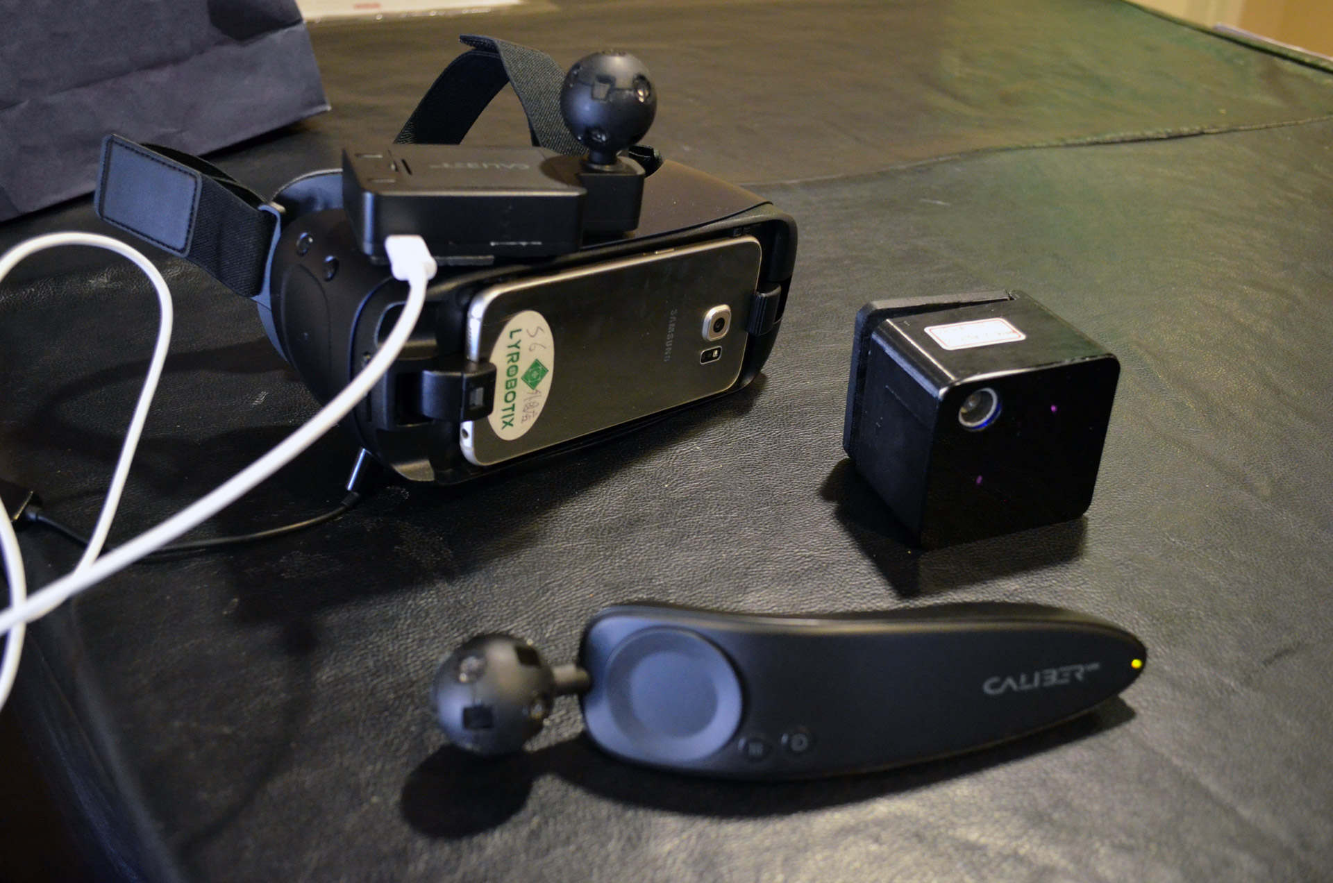 Lyrobotix Merges Tracking Tech for Mobile Positional VR Tracking
