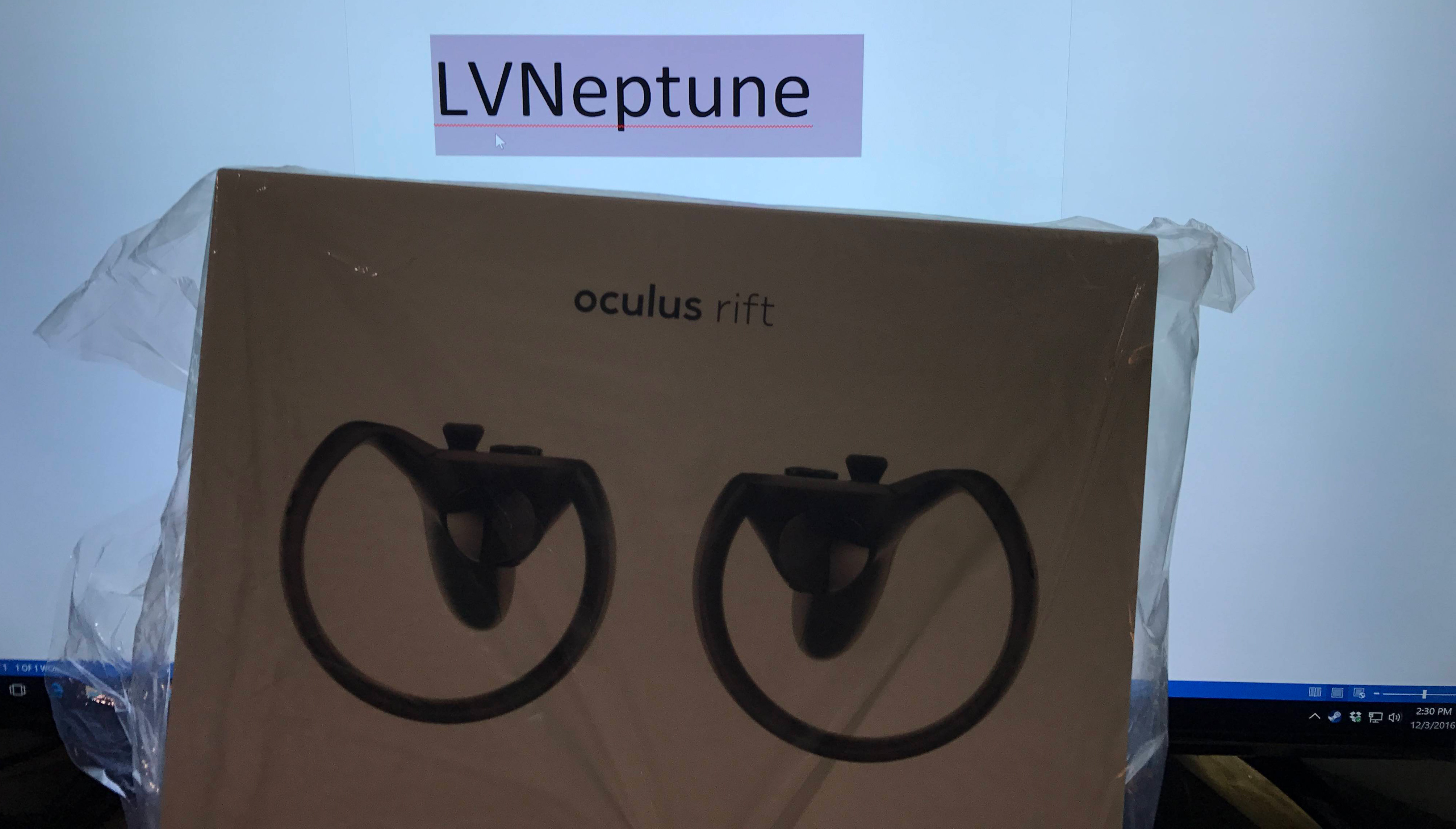 Oculus Touch Arrives Early for Some, Launch Day Delivery
