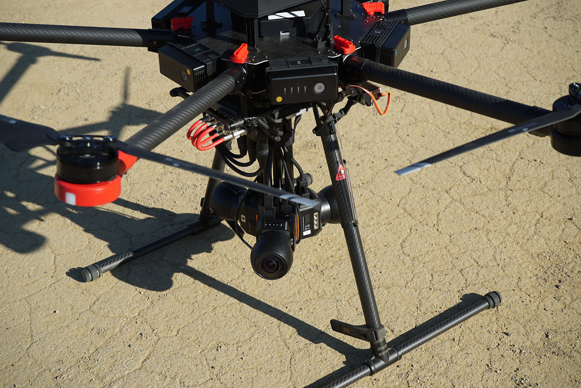 Broadcast quality 6K live VR Drone launched