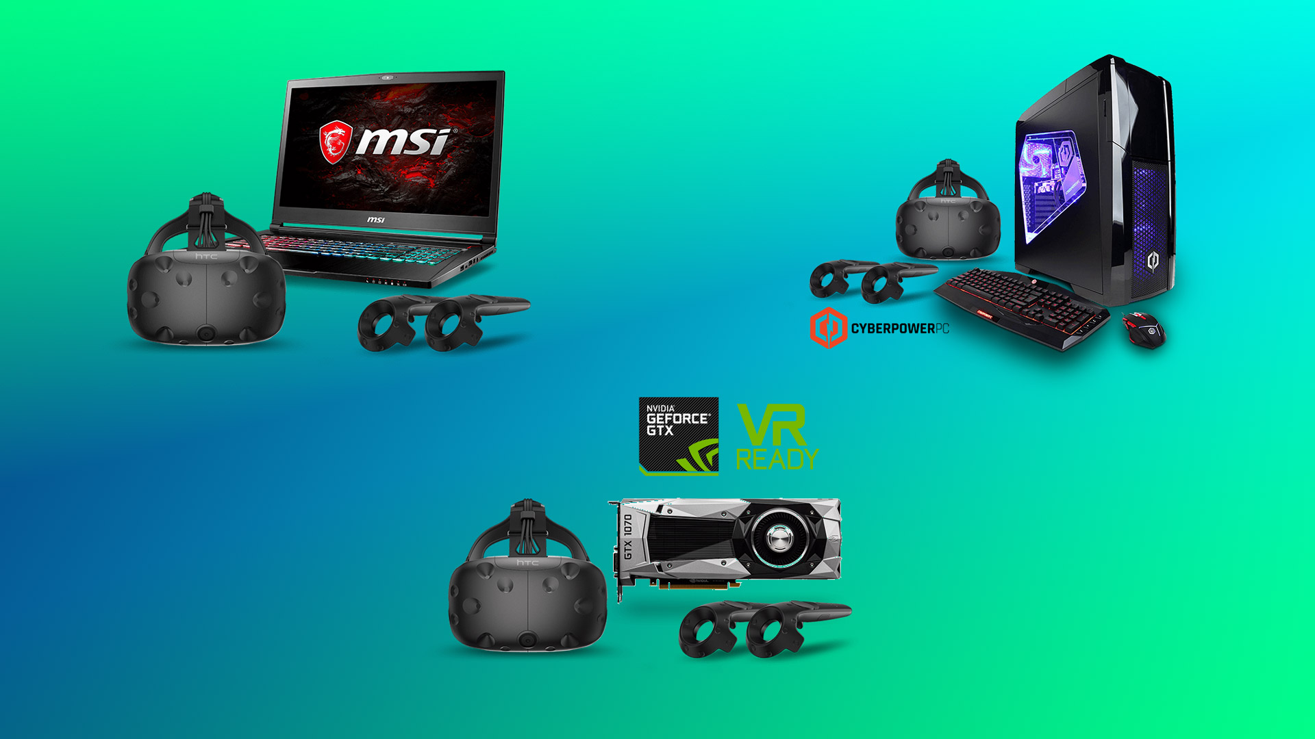 HTC Expands Vive Financing Program – Get a Headset and VR PC