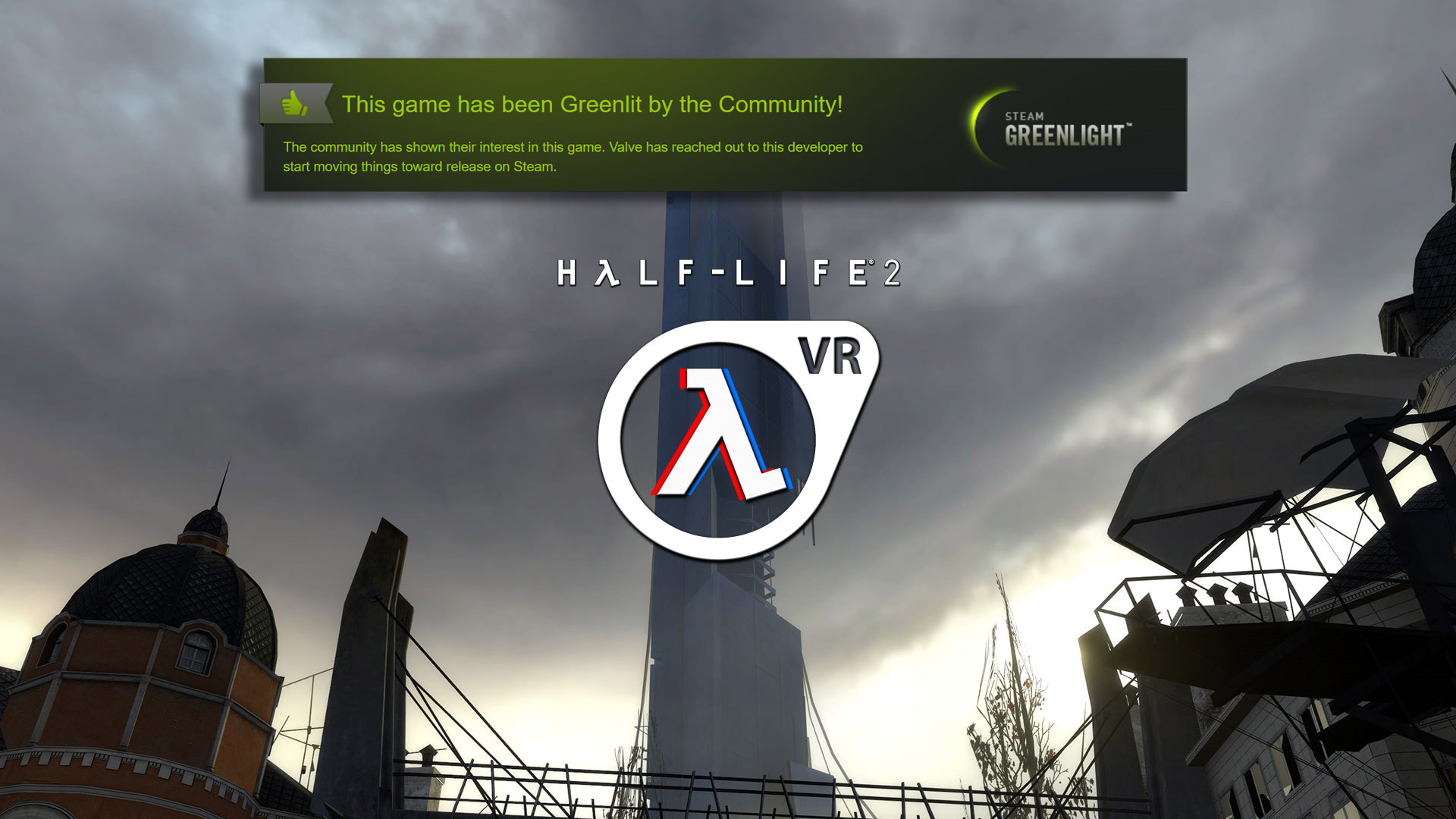 Half-Life 2 VR Mod Releases New Trailer, Now On Steam Greenlight