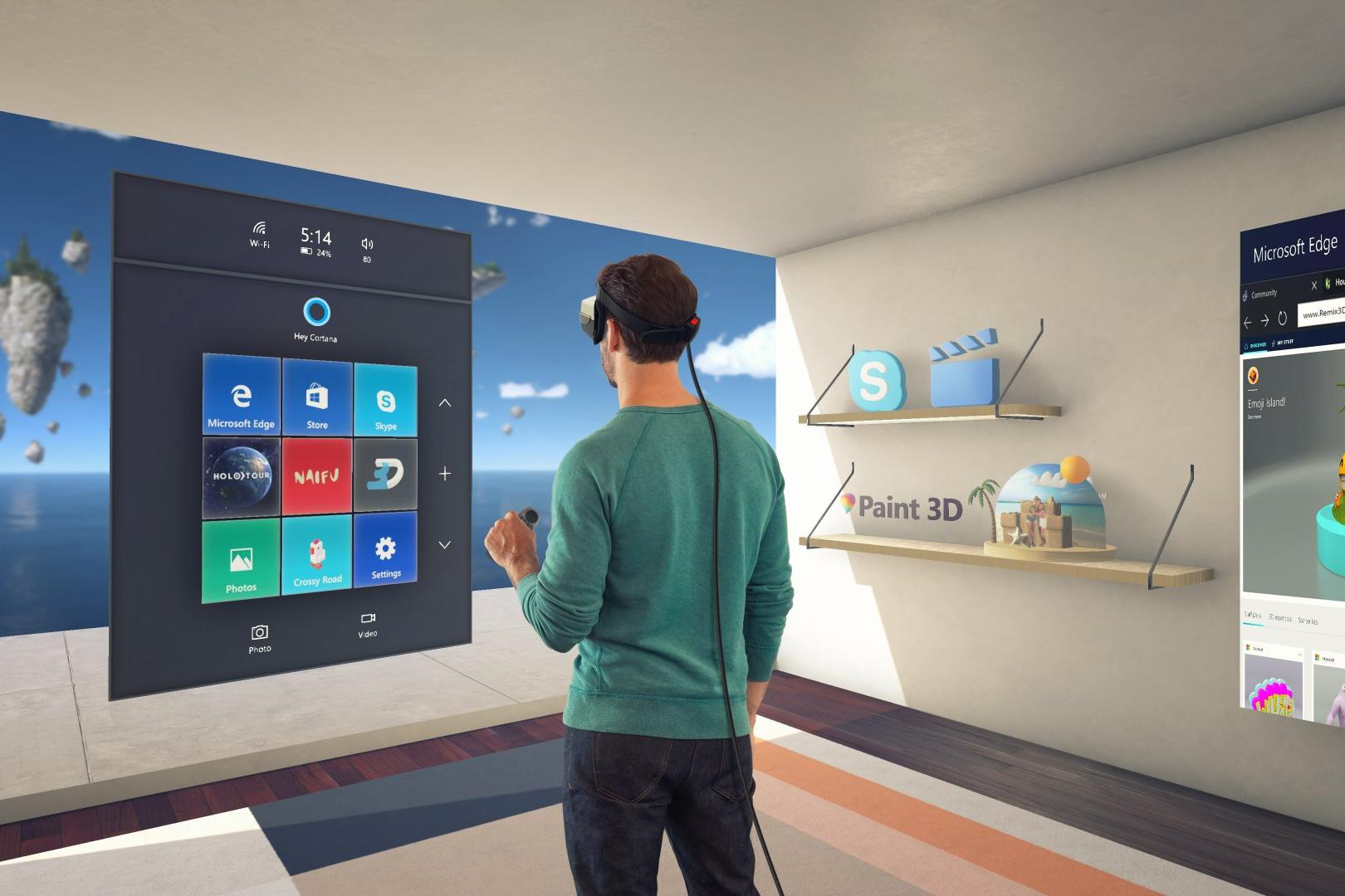 An In-depth Look at Microsoft's HoloLens & Mixed Reality
