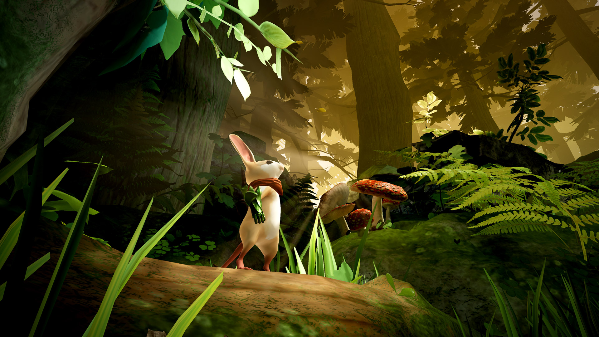 Gameplay Video Moss Is An Adorable Adventure Coming To