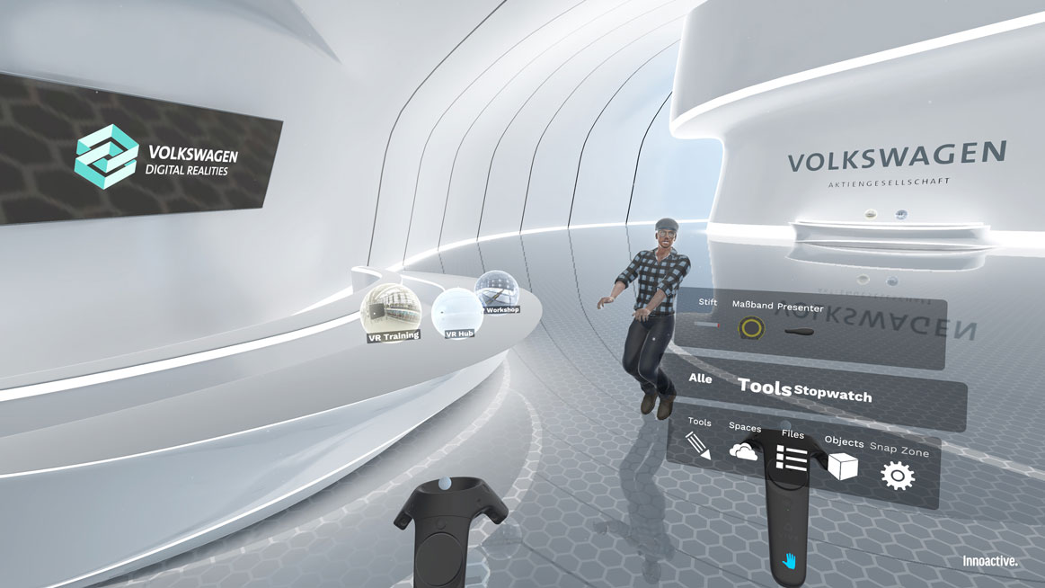 Volkswagen Group is Building VR Apps to Help Employees Collaborate